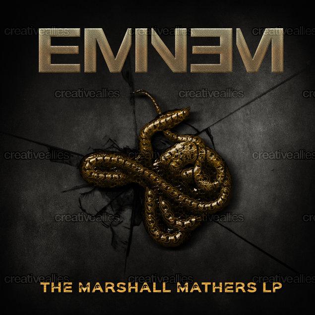 Eminem Album Cover by Judith [S]tudio on CreativeAllies.com