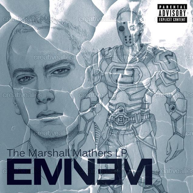 Eminem Album Cover by lmsc.malic on CreativeAllies.com