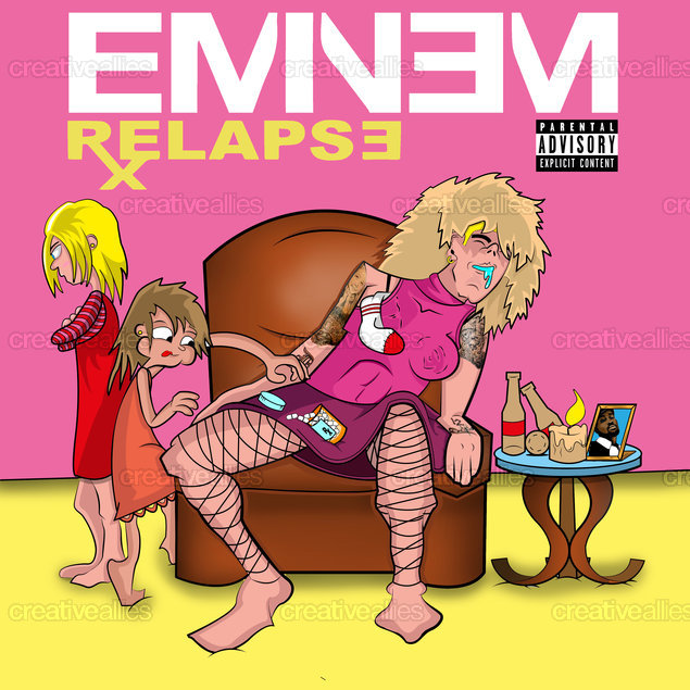 Eminem Album Cover by Leandro Puntin on CreativeAllies.com