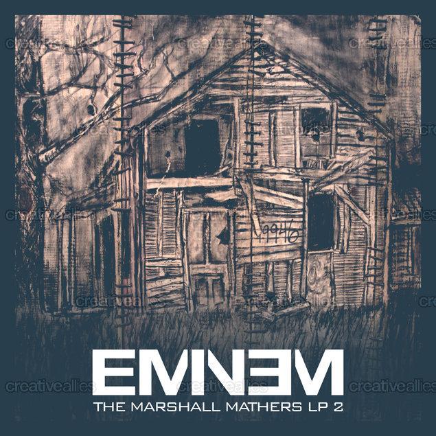 Eminem Album Cover by amo