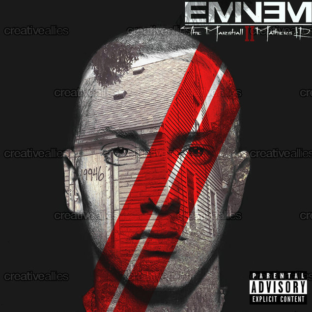Eminem Album Cover by Dunare Claudiu on CreativeAllies.com