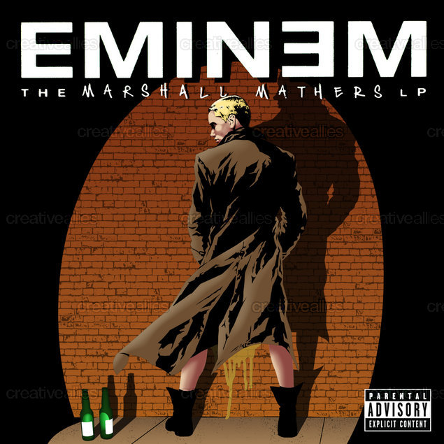Design An Album Cover For Eminem Creative Allies