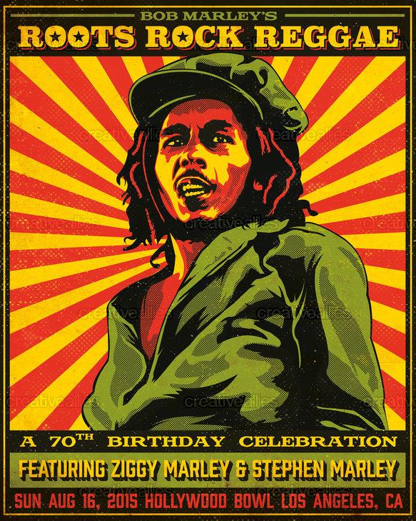 Bob Marley Poster By Francois Niocel On CreativeAllies