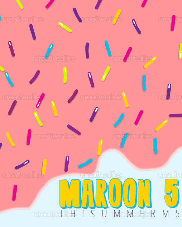 Maroon 5 Poster by shutupvictoria on CreativeAllies.com