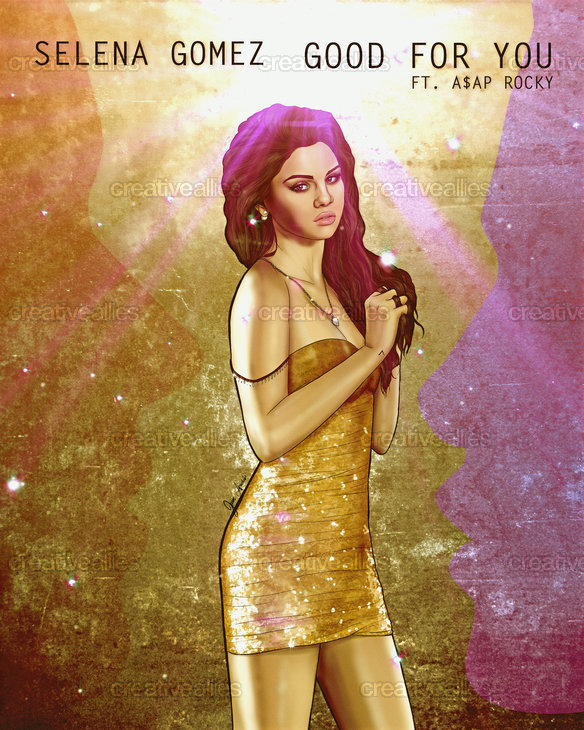 Selena Gomez Poster by Juan Andres Da Corte on CreativeAllies.com