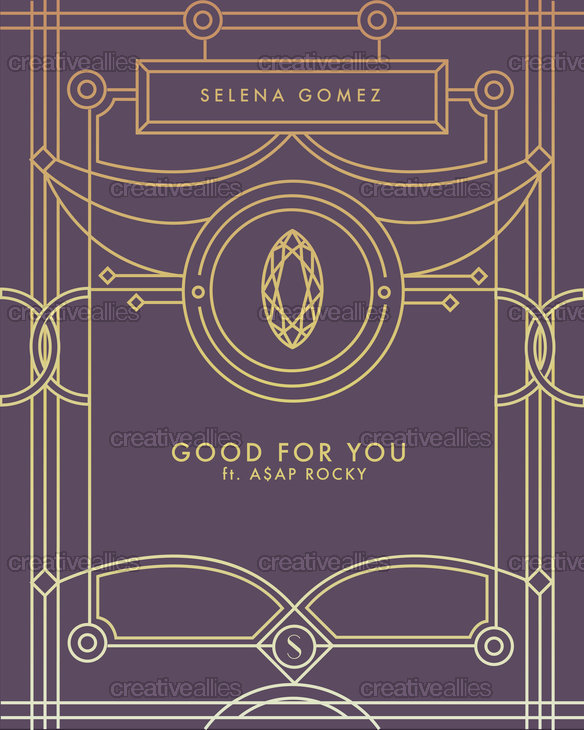 Selena Gomez Poster by elasticfangs on CreativeAllies.com
