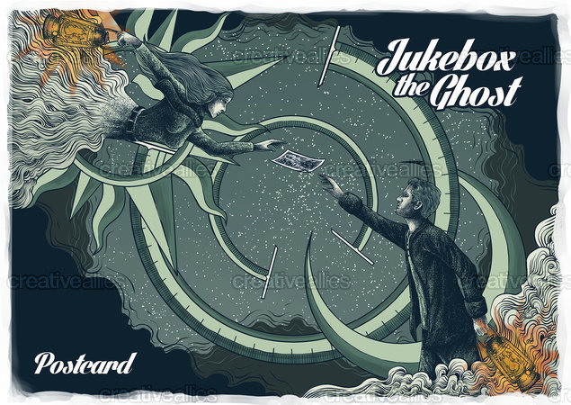 Jukebox The Ghost Poster by BhayuAka on CreativeAllies.com
