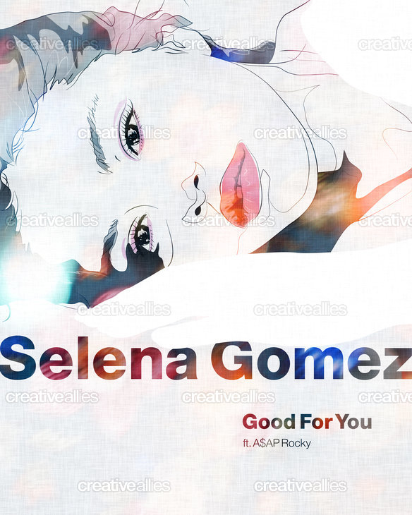 Selena Gomez Poster by SEVENTRAPS on CreativeAllies.com