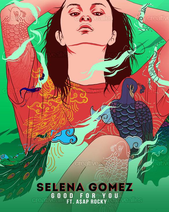 Selena Gomez Poster by gungbudi on CreativeAllies.com