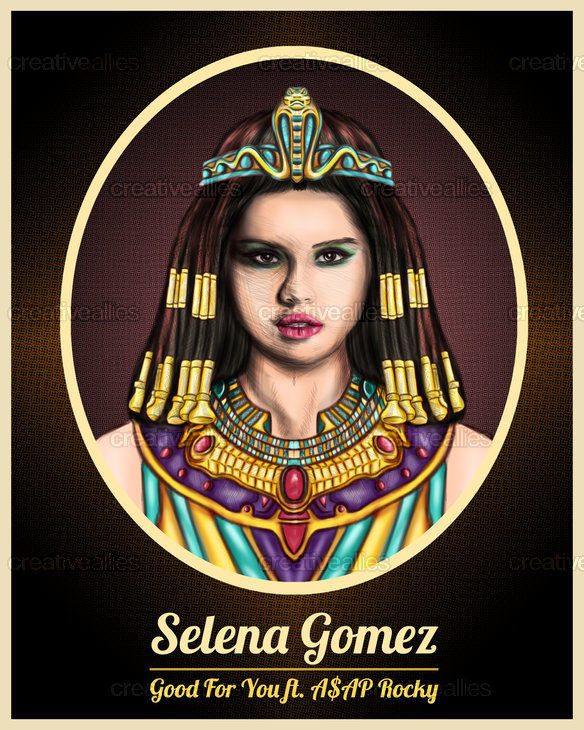 Selena Gomez Poster by Adrian2p on CreativeAllies.com