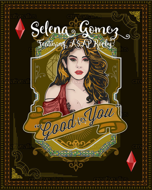 Selena Gomez Poster by thegrassroots.studio on CreativeAllies.com