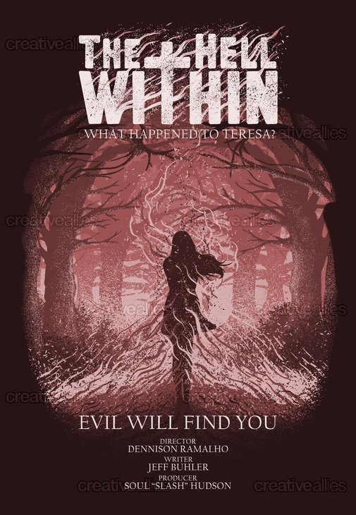 The Hell Within Poster by BhayuAka on CreativeAllies.com