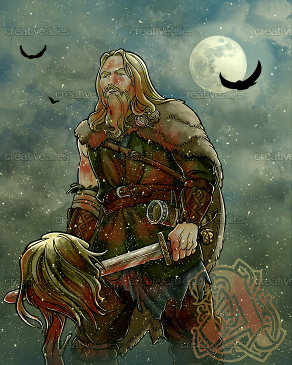 Amon Amarth Poster by fed on CreativeAllies.com