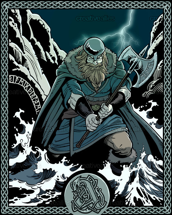 Amon Amarth Poster by Sara Cappoli on CreativeAllies.com