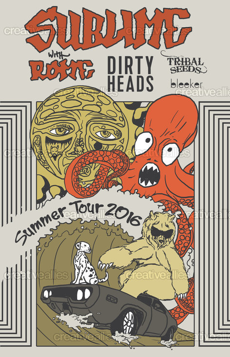 Sublime With Rome Tour Poster