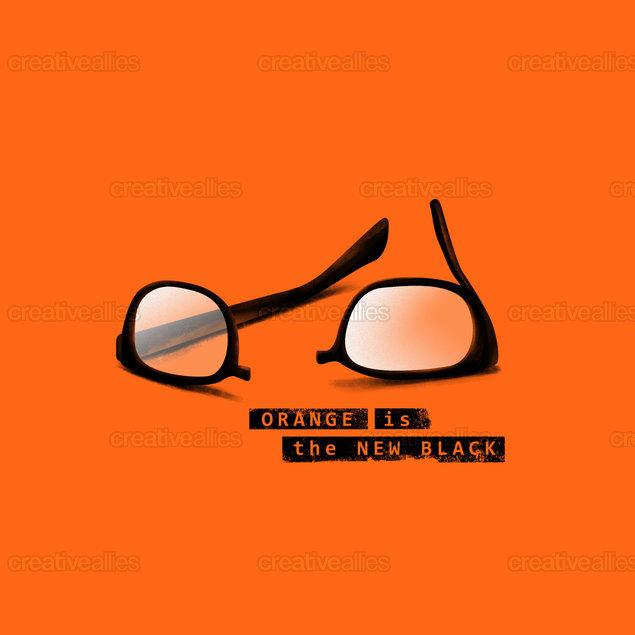 Orange is the New Black Poster by gungbudi on CreativeAllies.com