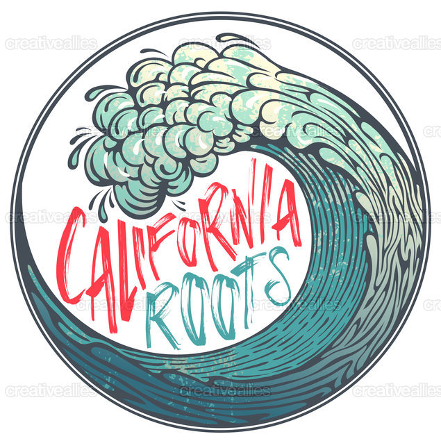 California Roots  Poster by Something Clever Designs on CreativeAllies.com