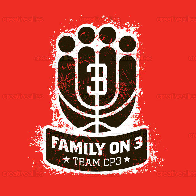 CP3 Family Collection Merchandise Graphic by Lonnie Walker on CreativeAllies.com