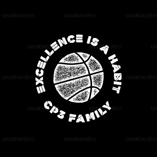 CP3 Family Collection Merchandise Graphic by Caitlin McEvoy on CreativeAllies.com