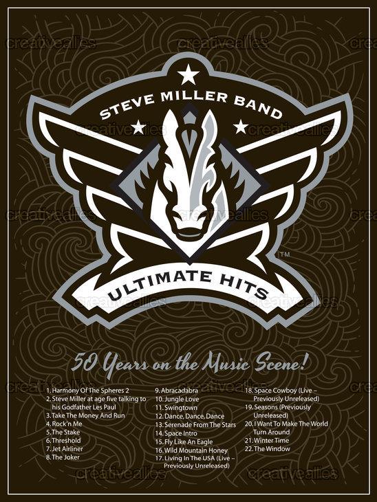 Steve Miller Band Poster by Lonnie Walker on CreativeAllies.com