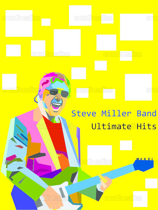Steve Miller Band Poster by ar-rajaziy on CreativeAllies.com