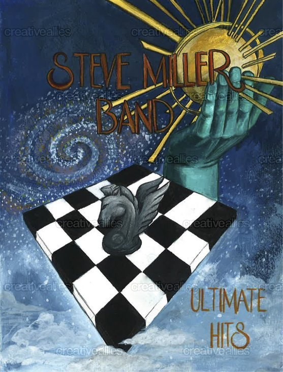 Steve Miller Band Poster by gracesong on CreativeAllies.com