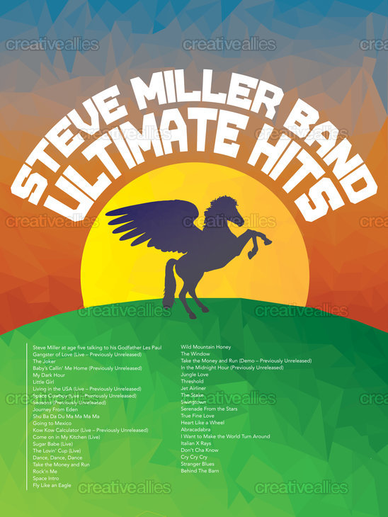Steve Miller Band Poster by Gerv on CreativeAllies.com