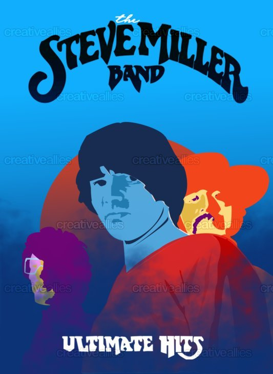 Steve Miller Band Poster by Tweeksmcgee on CreativeAllies.com