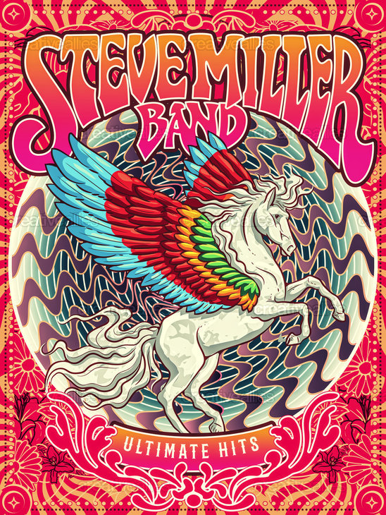 Steve Miller Band Poster by migspinoza on CreativeAllies.com