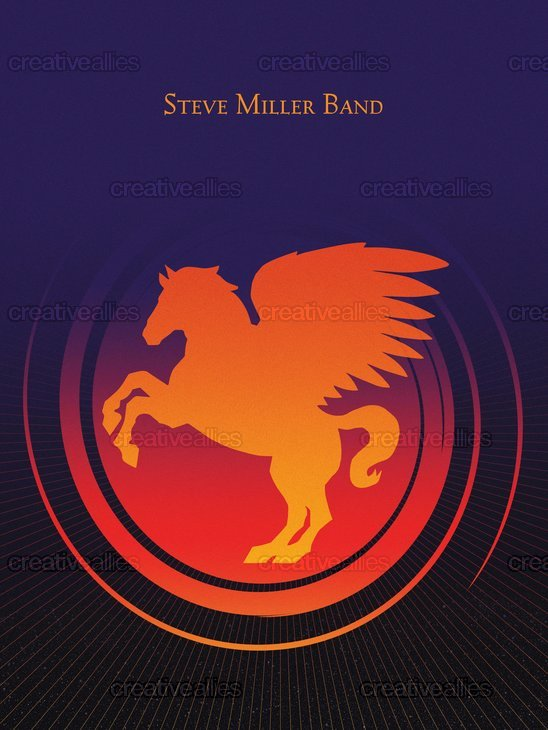 Steve Miller Band Poster by marskid12 on CreativeAllies.com