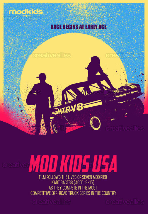 Mod Kids USA Poster by Heydale on CreativeAllies.com