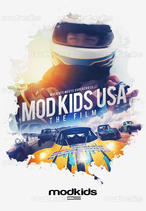 Mod Kids USA Poster by Gazo on CreativeAllies.com