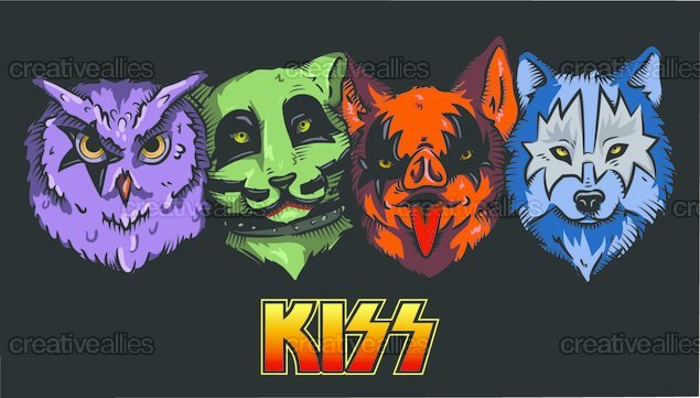 KISS Clothing by LocknessaMonsta on CreativeAllies.com