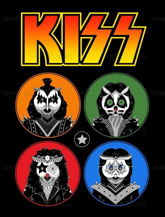 KISS Clothing by GODZILLARGE on CreativeAllies.com