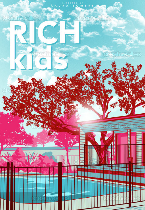 Rich Kids Poster by Amiel Larazo on CreativeAllies.com