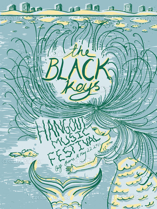 Christine_harrison_black_keys_poster