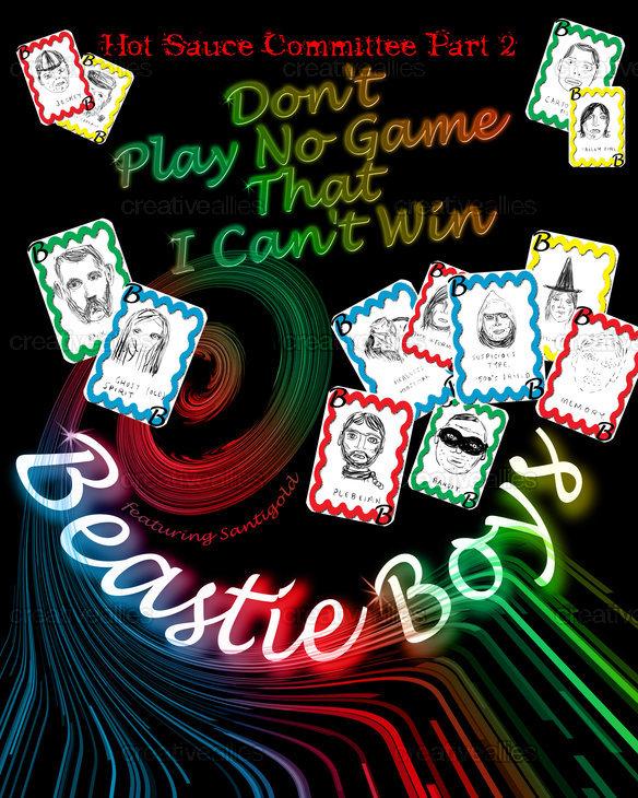 Beastie Boys Poster by esafbabe