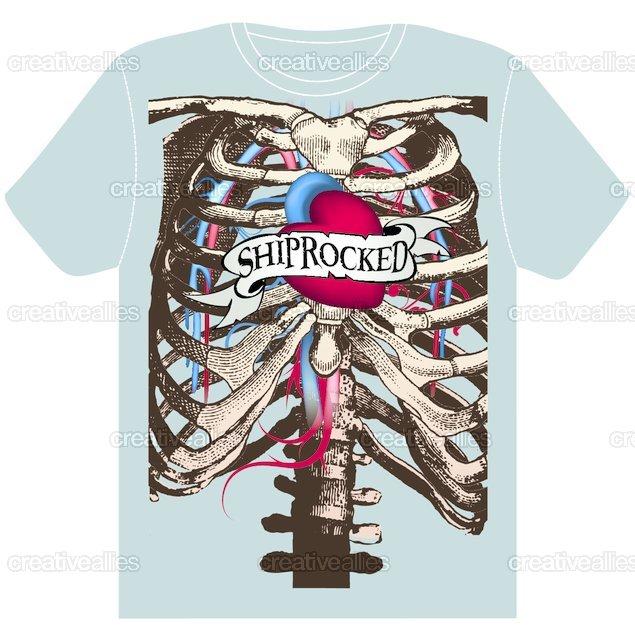 ShipRocked T-Shirt by jedart on CreativeAllies.com