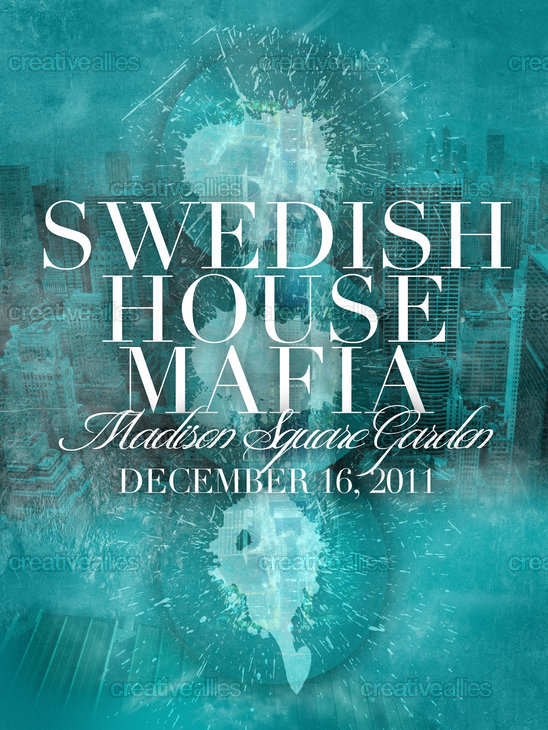 Swedish House Mafia Poster by Deejaybogus on CreativeAllies.com