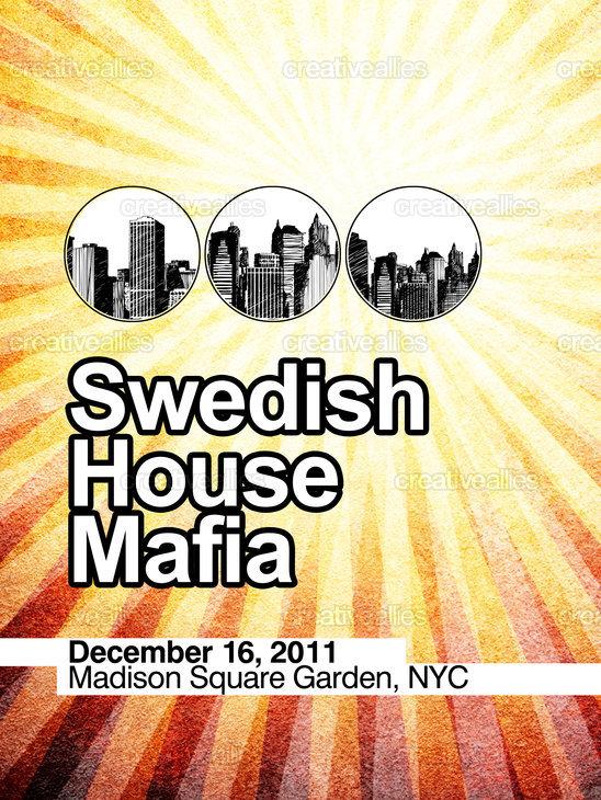 Swedish House Mafia Poster by threecreative on CreativeAllies.com