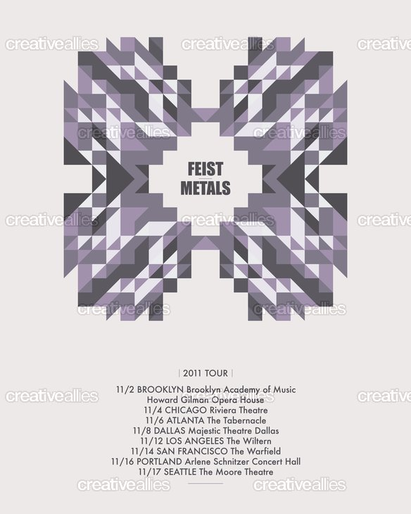 Feist_metals_tour_poster