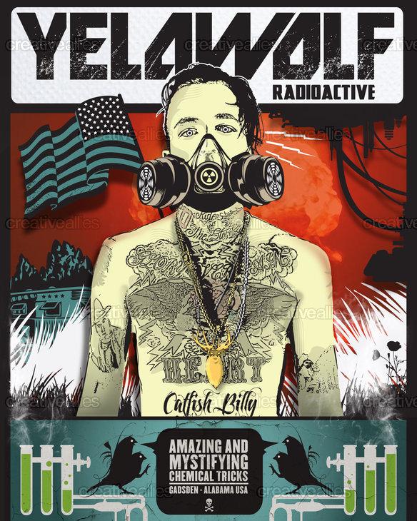 Yelawolf Poster by KiddHalo on CreativeAllies.com