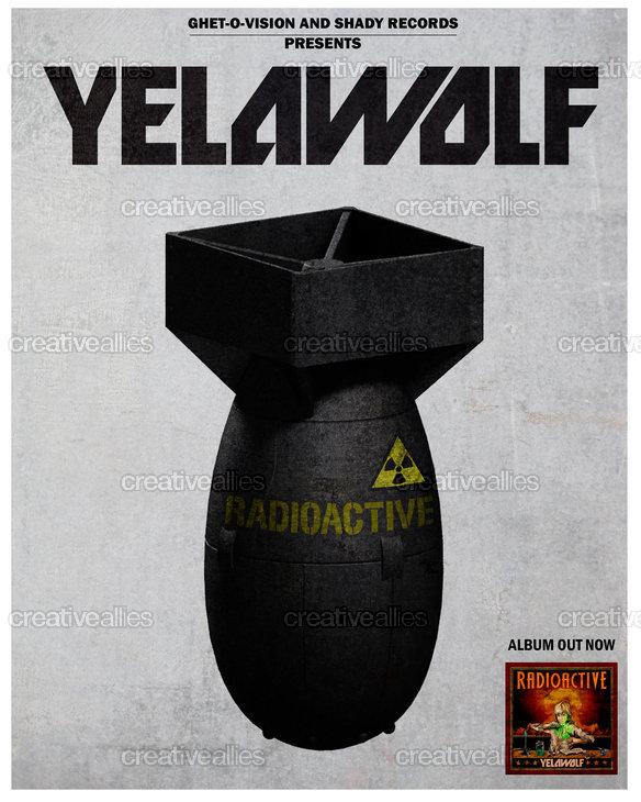 Yelawolf Poster by jorgepeyrau