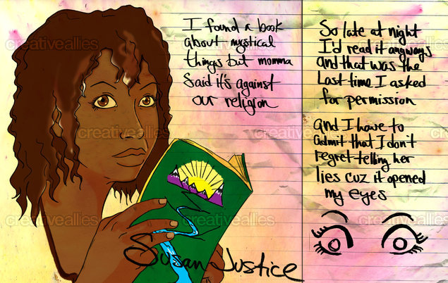 Susan Justice Poster by AfroKid on CreativeAllies.com