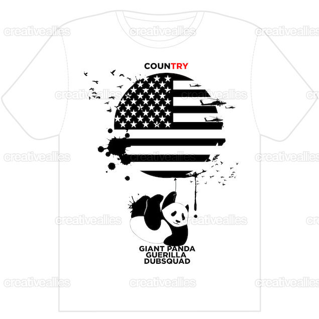 Clothing-tshirt-front-panda