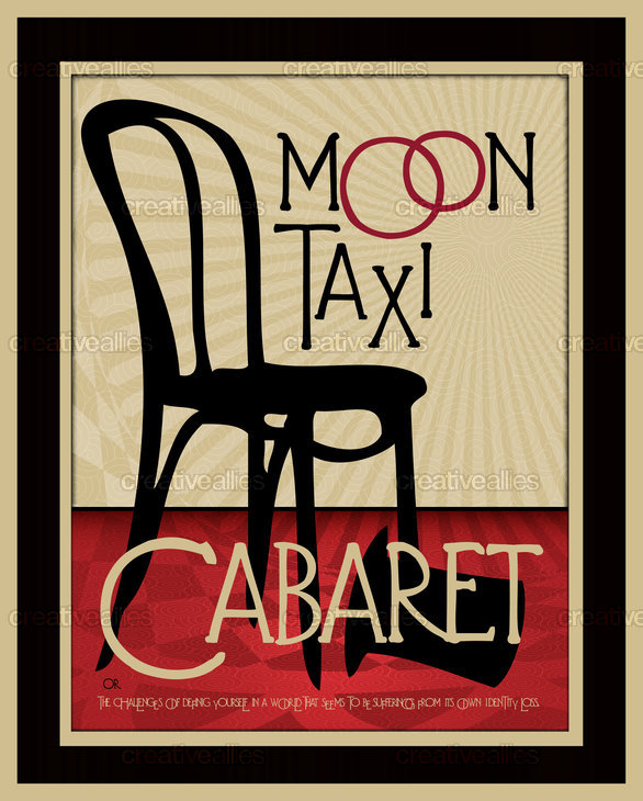 Moon Taxi Poster by FRIDAY