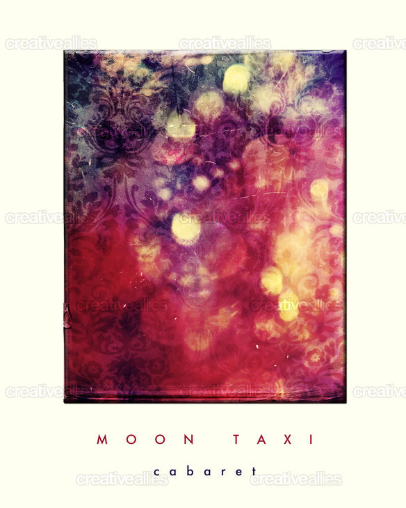 Moon Taxi Poster by navalorama
