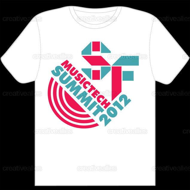 Design a T-Shirt for SF MusicTech Summit 2012 | Creative Allies