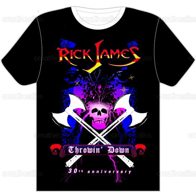 Rick James T-Shirt by paperbackrighteous on CreativeAllies.com