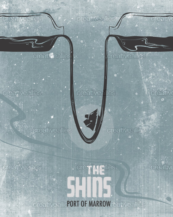 The Shins Poster by ekelly22